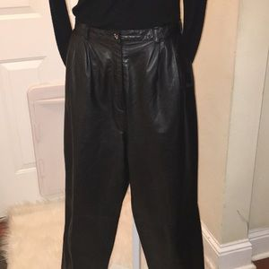 568132a79ba Lord   Taylor Leather Pants on Poshmark